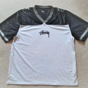 Stussy Jersey-Style Signature Shirt Large